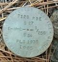 Image for T12S R9E S27 34 E-W-E 1/256 COR - Jefferson County, OR