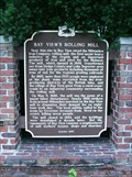 Image for Bay View's Rolling Mill Historical Marker
