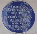 Image for Henry Brooks Adams - Portland Place, London, UK