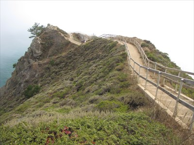 Trail to Observation Point of Muir Beach Overlook
