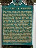 Image for Gov. Fred M. Warner
