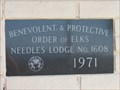 Image for 1971 - Elks Lodge 1608 - Needles, CA