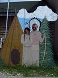 Image for Totem Village Cutout - St. Ignace, MI