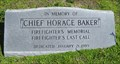 Image for In Memory of Chief Horace Baker