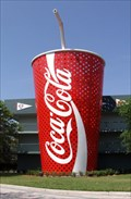 Image for Ginormous Coca Cola Cup and Straw