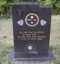 Image for Steeler Football Team Fan, Pittsburgh, Pennsylvania, USA