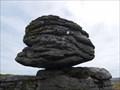 Image for Thornworthy Tor Logan Stone, Dartmoor, Devon UK