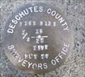 Image for T15S R13E S16 21 1/4 COR - Deschutes County, OR