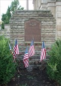 Image for Holmes County Courthouse Memorial Plaque  -  Millersburg, OH