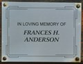 Image for Frances H. Anderson ~ Bismarck, North Dakota