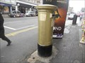 Image for Chris Hoy Gold Post Box - Edinburgh, Scotland