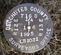 Image for T16S R12E S1 R13E S6 1/4 COR - Deschutes County, OR