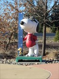 Image for Snoopy With Ruler - Santa Rosa, CA