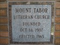 Image for 1963 - Mount Tabor Lutheran Church - Salt Lake City, UT