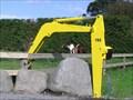 Image for Dig this mailbox!  Urenui. Taranaki.  New Zealand.
