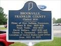 Image for Brookville, Franklin County (Platted 1808) - Brookville, Indiana