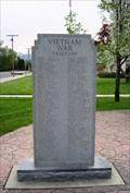 Image for Vietnam War Memorial, Veterans Memorial Plaza - Morgan, Utah USA