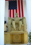 Image for Abraham Lincoln[seated scultpure], Lincoln Memorial (Clermont, FL,  USA)