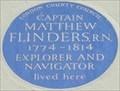 Image for Captain Matthew Flinders - Fitzroy Street, London, UK