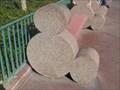 Image for Hidden Mickey Benches - Disneyland