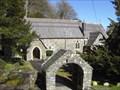Image for Lychgate, Llandre Church, Aberystwyth, Ceredigion, Wales, UK