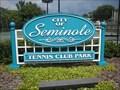 Image for City of Seminole Tennis Club Park
