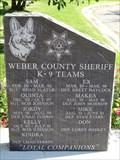Image for Weber County Sheriff K-9 Teams - Ogden, Utah