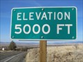Image for Highway 395 - Likely, CA - 5000'