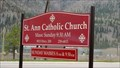 Image for St. Ann Catholic Church - Bonner, MT