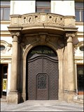 Image for Franz Kafka's Door, Praha, CZ