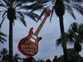 Image for Neon Guitar at the Hard Rock Cafe and Casino - Tampa, Florida