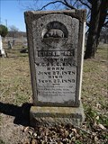 Image for EARLIEST Dated Tombstone in Annetta Cemetery - Annetta, TX