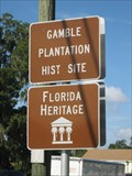 Image for Gamble Plantation Historic State Park
