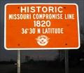 Image for Missouri Compromise - 36° 30' - Enid, Oklahoma