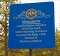 Image for Carranza Monument Historical Marker, Tabernacle, NJ