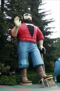 Image for Paul Bunyan and Babe the Blue Ox - Trees of Mystery, CA
