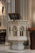 Image for Stone pulpit -- St Peter Catholic Church, Memphis