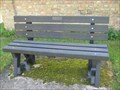 Image for Stow Longa  Village bench  - Camb's