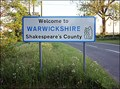 Image for Warwickshire -Shakespeare's County