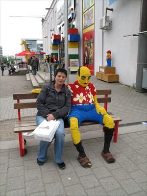 Beim Lego-Mann