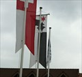 Image for Municipal Flag - Aesch, BL, Switzerland