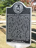Image for Grange Hall Cemetery