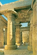 Image for Khonsu Temple Pillars - Luxor-Karnak