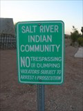 Image for Salt River Indian Community - Maricopa County, Arizona