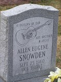 Image for Allen Eugene Snowden - Guitar and Fishing - Georgetown Cemetery, Georgetown, KY