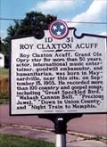 Image for Roy Claxton Acuff-1D 31-Maynardville