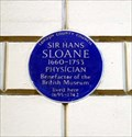 Image for Sir Hans Sloane, Bloomsbury Pla, London, UK