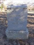 Image for Mattie Jane Webb - Wilson Cemetery - Aubrey, TX