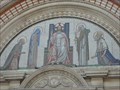 Image for Westminster Cathedral Mosaic Frieze - London, UK