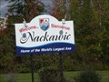 Image for Welcome... Bienvenue Nackawic, Home of the World's Largest Axe